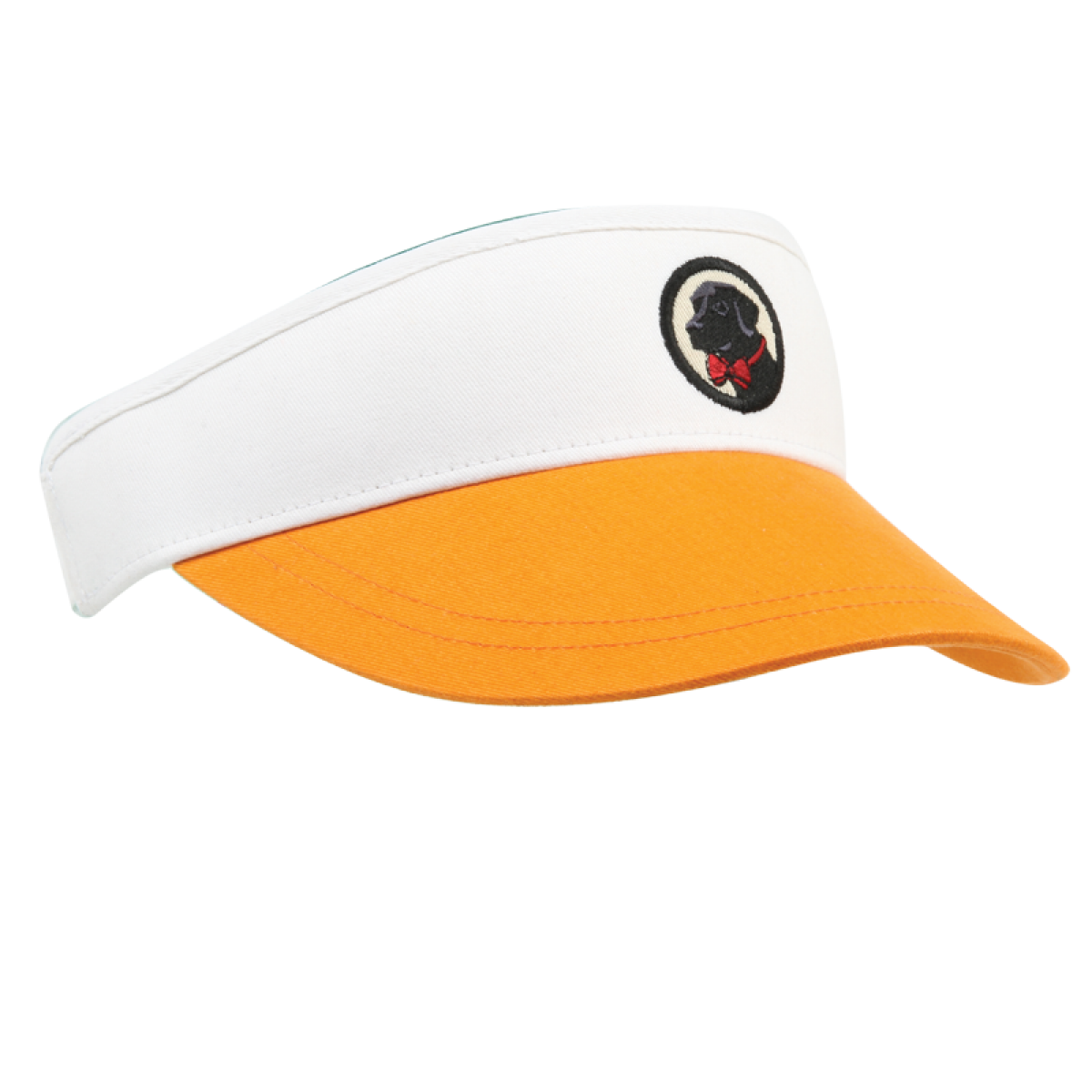 Visor - Orange and White